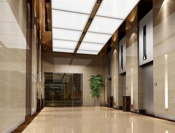 Elevator-hallway