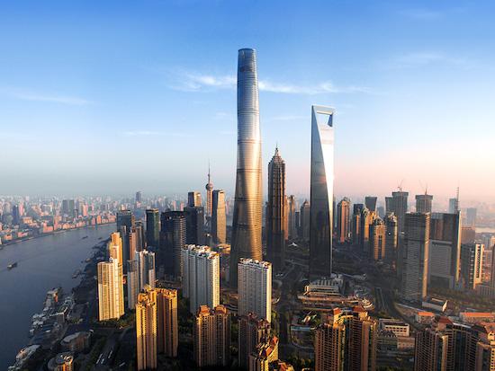 shanghai tower - tòa nhà có thang máy chạy nhanh nhất thế giới